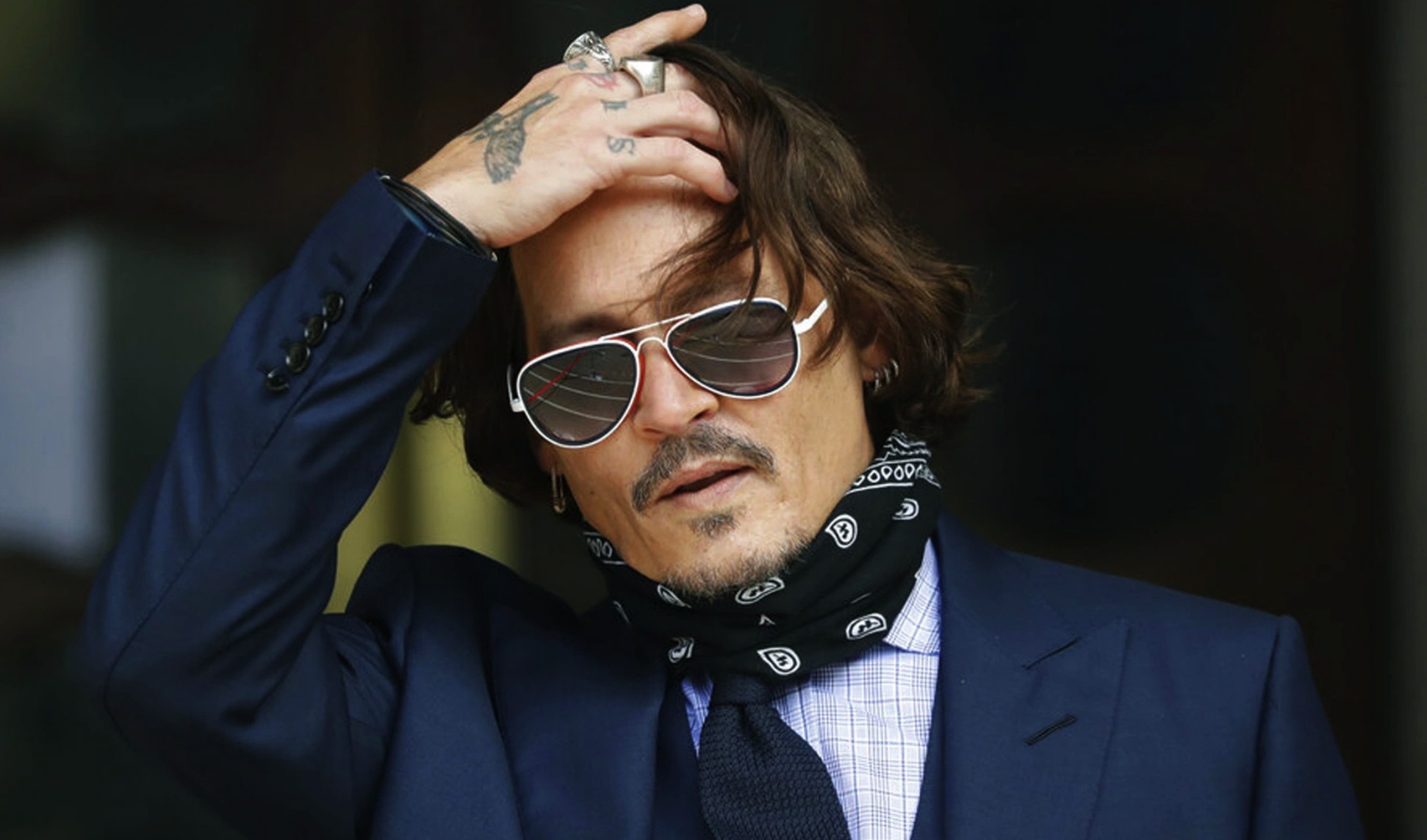 Johnny Depp promoting crypto