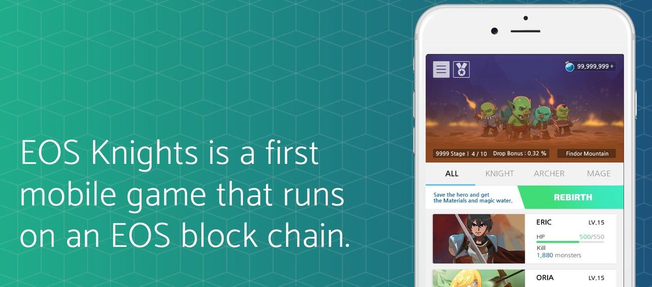 EOS blockchain game