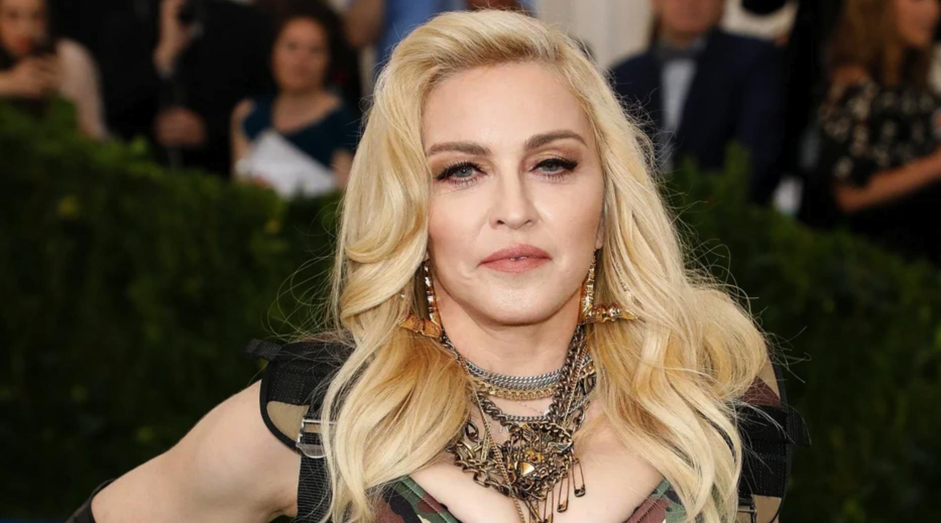 Madonna promoting crypto