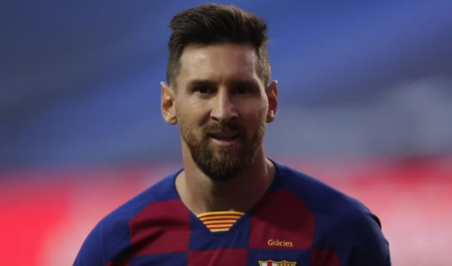Lionel Messi promoting crypto
