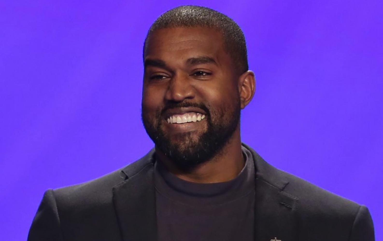 Kanye West promoting crypto